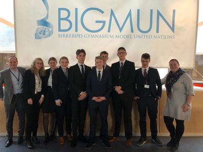 "Changing the world – die Hansa-Delegation bei der Model United Nations-Konferenz ""BIGMUN"" nahe Kopenhagen (Februar 2020)"